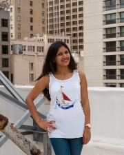 Women's Flowy Tank Top - Ladies Sailing Clothes Ladies Flowy Tank lifestyle-bellaflowy-tank-front-3