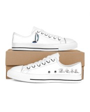 Men's Sailing Design Shoes  Men's Low Top White Shoes inside-right-outside-right