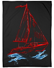 "Sailboat Fleece Blanket - Large  Large Fleece Blanket - 60"" x 80"" front"
