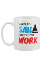Sailing Coffee Mug -  Born to Sail Mug back
