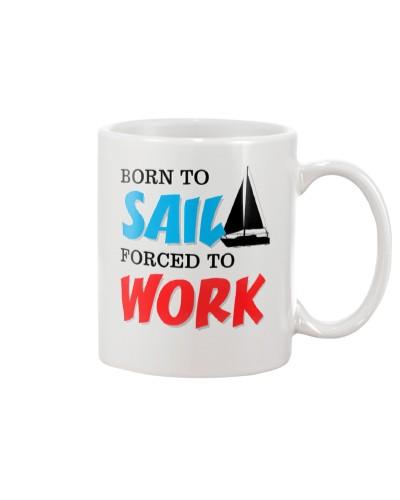 Sailing Coffee Mug -  Born to Sail