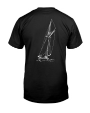 Sailing Shirt - Sailboat Art Collection  Classic T-Shirt back