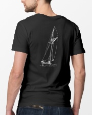 Sailing Shirt - Sailboat Art Collection  Classic T-Shirt lifestyle-mens-crewneck-back-5