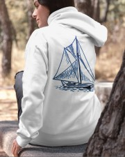 Men's Sailing Hoodies - Sailboat Collection Hooded Sweatshirt apparel-hooded-sweatshirt-lifestyle-06