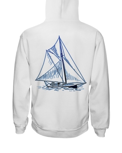 Men's Sailing Hoodies - Sailboat Collection