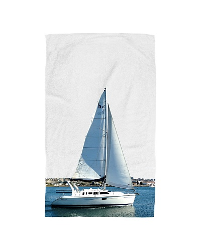 Sailboat Hand towel for sailing fans