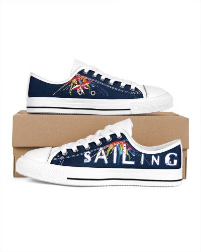 Women's Sailing Colorful Design Shoes