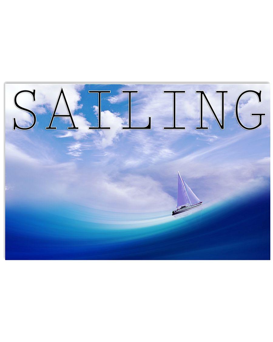Sailboat Poster Wall Art  36x24 Poster