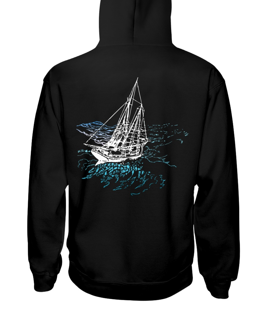 Unisex Sailing Hoodies - Sailboat Collection Hooded Sweatshirt