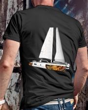 Sailing clothes - Yachting apparel - Catamaran Classic T-Shirt lifestyle-mens-crewneck-back-2