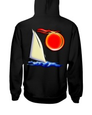 Unisex Sailing Hoodies - Sailboat collection Hooded Sweatshirt back