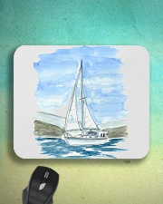 Sailboat Mousepad - Sailing apparel  Mousepad aos-mousepad-front-lifestyle-3