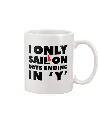 Sailing Coffee Mug - I Only Sail