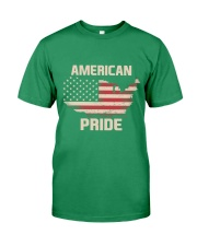 American Pride - Limited Edition Patriot T-shirt Premium Fit Mens Tee front