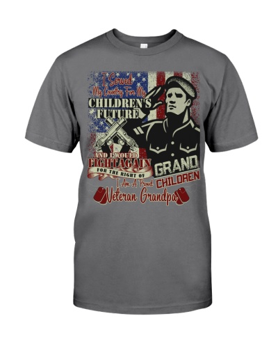 I am a Proud Veteran Grandpa - Limited Edition