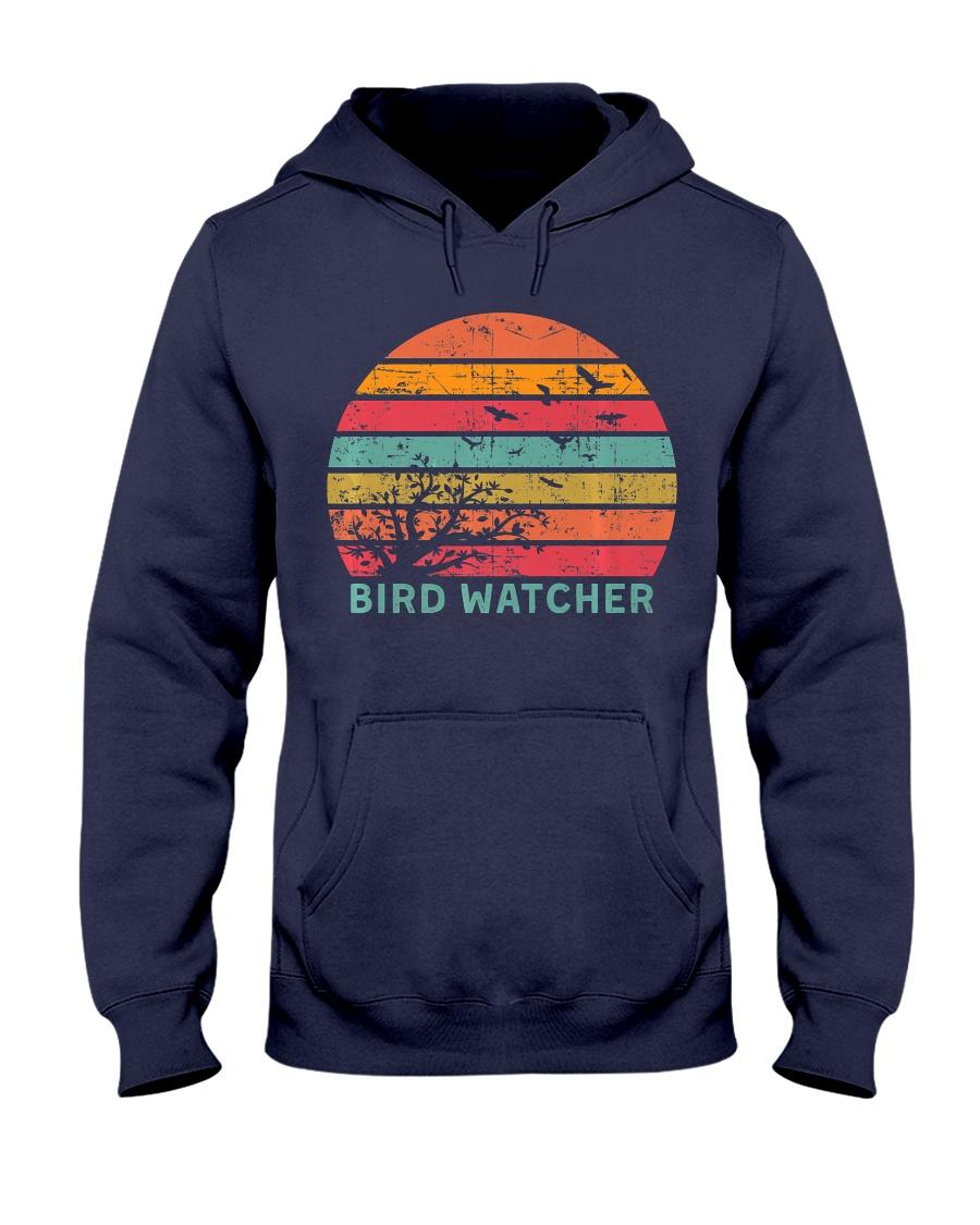 Bird Watcher Ornithologist Gift B Hooded Sweatshirt