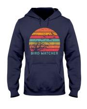 Bird Watcher Ornithologist Gift B Hooded Sweatshirt front