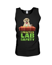 I Practice Lab Safety Funny Labrador Dog  Unisex Tank tile