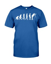 Birder Evolution Bird Watching Birdi Classic T-Shirt front