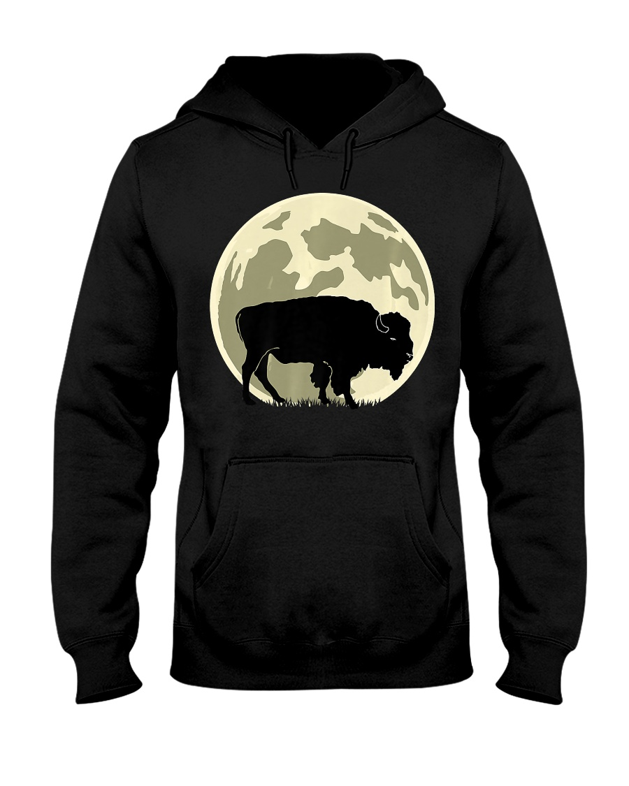 Bison Lover T-Shirt for Hal Hooded Sweatshirt