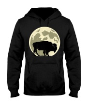 Bison Lover T-Shirt for Hal Hooded Sweatshirt front
