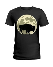 Bison Lover T-Shirt for Hal Ladies T-Shirt thumbnail
