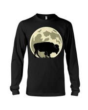 Bison Lover T-Shirt for Hal Long Sleeve Tee thumbnail