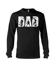 BASKETBALL DAD GIFT FOR FATHER'S D Long Sleeve Tee thumbnail
