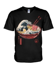 Great Ramen Wave T-Shirt V-Neck T-Shirt thumbnail