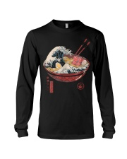 Great Ramen Wave T-Shirt Long Sleeve Tee thumbnail