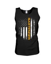 Vintage American USA Flag Bartender T-Shirt B Unisex Tank thumbnail