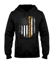 Vintage American USA Flag Bartender T-Shirt B Hooded Sweatshirt thumbnail