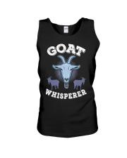 Goat Whisperer T-Shirt I Farmer Animals Unisex Tank thumbnail