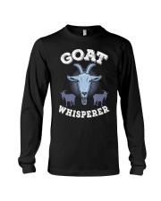 Goat Whisperer T-Shirt I Farmer Animals Long Sleeve Tee thumbnail