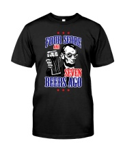 4th of July Abe Lincoln USA Shirt F Classic T-Shirt front