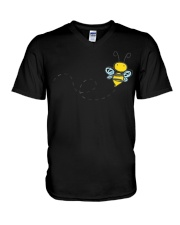 Bumble Bee V-Neck T-Shirt tile