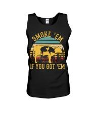 Vintage Smoke 'Em If You Got 'Em BBQ Grilling Unisex Tank thumbnail