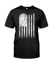 Bird Watching USA American Flag Classic T-Shirt thumbnail