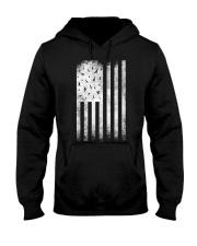 Bird Watching USA American Flag Hooded Sweatshirt thumbnail