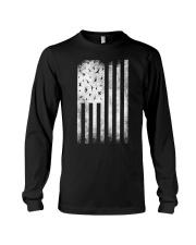 Bird Watching USA American Flag Long Sleeve Tee thumbnail