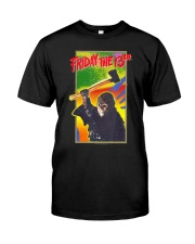 Friday the 13th Retro Game T-Shirt Classic T-Shirt front