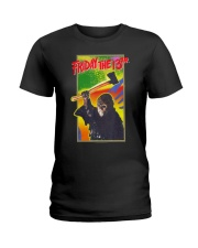 Friday the 13th Retro Game T-Shirt Ladies T-Shirt tile