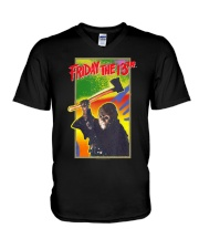 Friday the 13th Retro Game T-Shirt V-Neck T-Shirt thumbnail