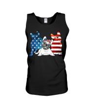 American French Bulldog Patriot Unisex Tank thumbnail