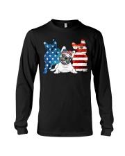 American French Bulldog Patriot Long Sleeve Tee thumbnail