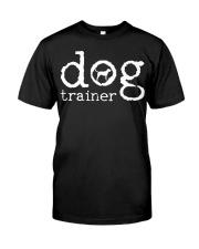 Dog School Trainer Labrador Golden Retrie Classic T-Shirt front