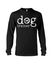 Dog School Trainer Labrador Golden Retrie Long Sleeve Tee thumbnail