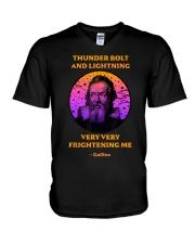 Thunderbolt and Lightning Galileo T Shirt V-Neck T-Shirt thumbnail