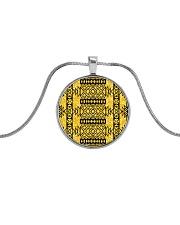 Benj-Urban African Emblems Bracelets  Metallic Circle Necklace thumbnail