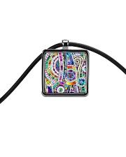 Benj-Urban African Emblems Bracelets  Cord Rectangle Necklace thumbnail